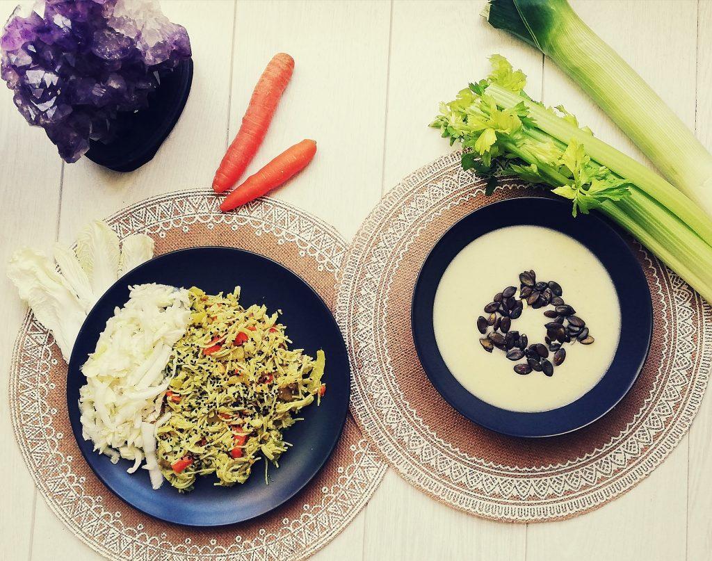 Monáda zdravé vegánske jedlo